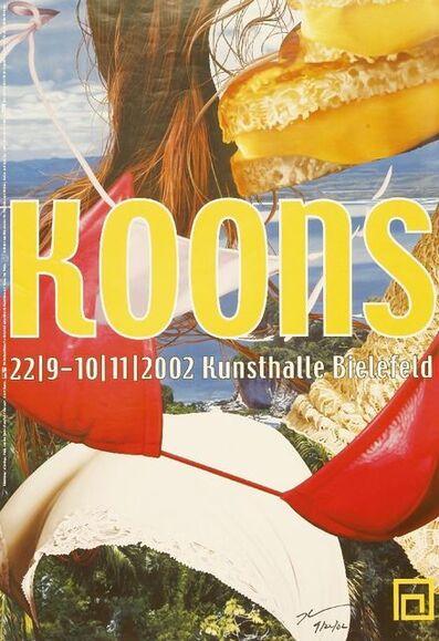 Jeff Koons, 'Kunsthalle Bielefeld Poster', 2002