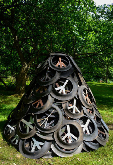 Brent Crothers, 'Re-inventing the Wheel, Mound #8', 2019