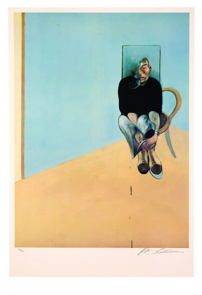 Francis Bacon, 'Study for Self Portrait, 1982', 1984