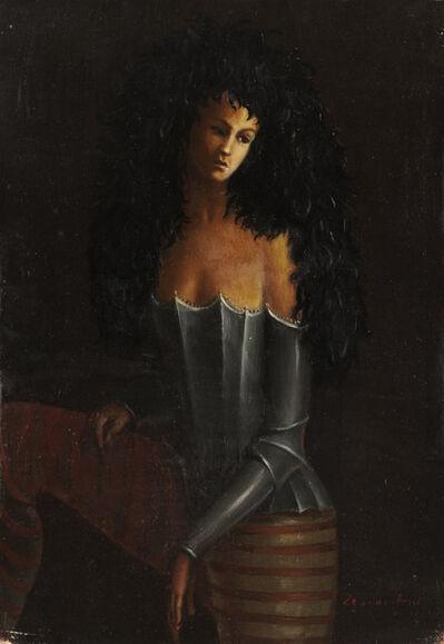 Leonor Fini, 'Femme costumee (Femme en armure)', ca. 1938