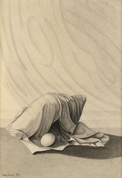 Kay Sage, 'Minutes #8 (Recto Verso)', 1943