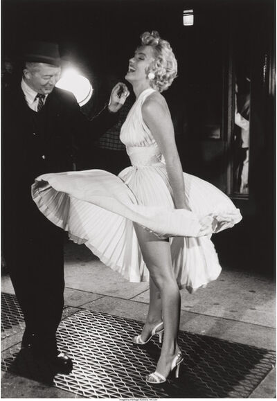 George Zimbel, 'Marilyn Monroe and Billy Wilder, N.Y.C.', 1954