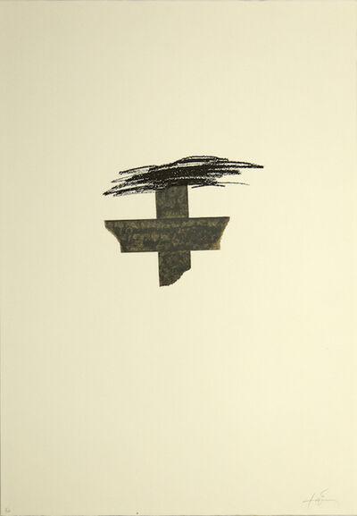 Antoni Tàpies, 'Llambrec', 1975