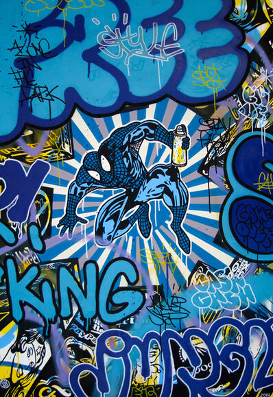 Speedy Graphito, 'Free King', 2014