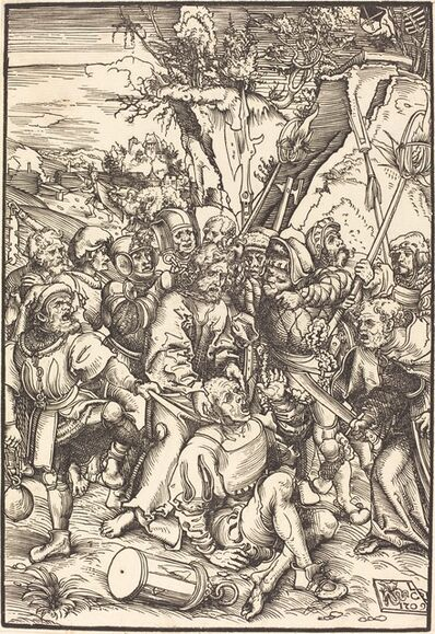 Lucas Cranach the Elder, 'Christ Taken Captive', in or before 1509