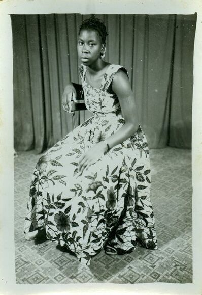 Seydou Keïta, 'Sans titre (femme)'