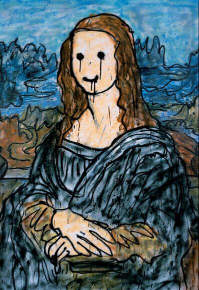 MADSAKI, 'Mona Lisa 3P', 2019