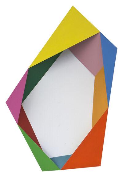 Beat Zoderer, 'Pentagramm No. 1', 2016