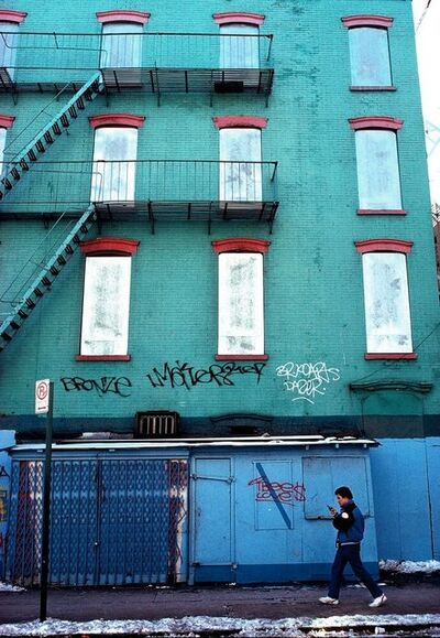 Joseph Rodriguez, 'Man with Gun, Spanish Harlem, NY', 1987