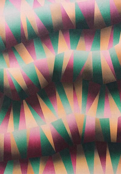 Takuji Hamanaka, 'zigzag', 2017