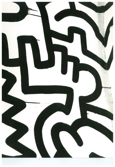 Andy Warhol, 'Andy Warhol, Photograph of a Keith Haring Painting Detail (Pop Shop) circa 1983', ca. 1983