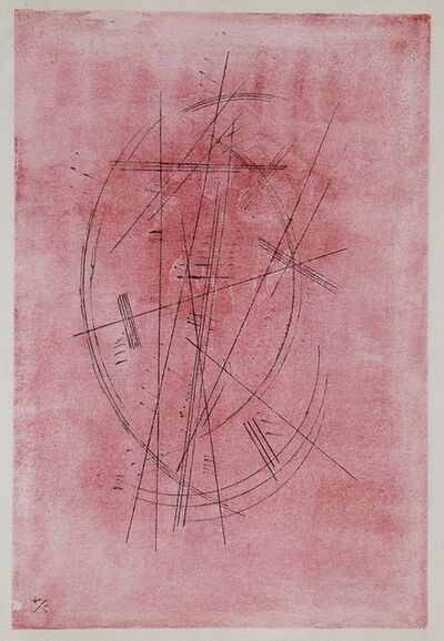 Wassily Kandinsky, 'Zeichnung in rosa / Drawing in pink', 1927
