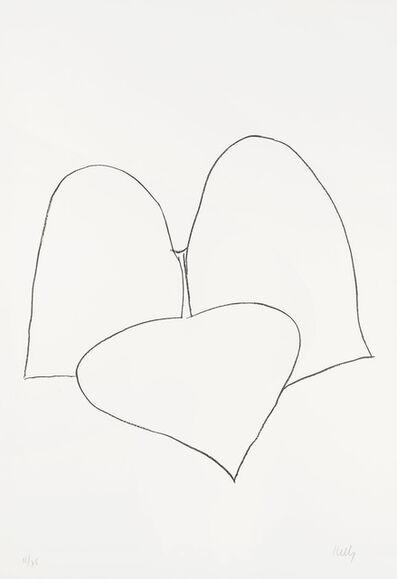 Ellsworth Kelly, 'String Bean Leaves III (Haricot Vert III)', 1965
