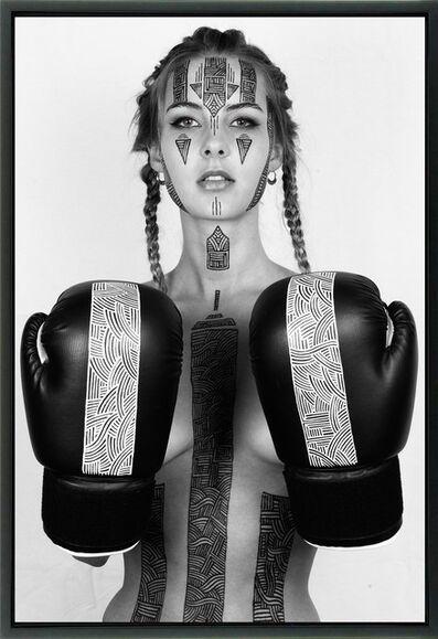 """Alexandre de Poplavsky, 'Body Painting """"Maya""""', 2018"""