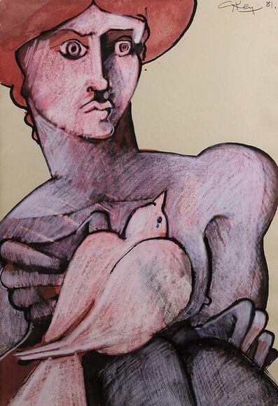 Geoffrey Key, 'Figure and Dove', 1981