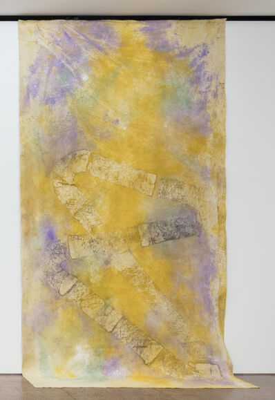 Jessica Warboys, 'River Wax Painting X III', 2019