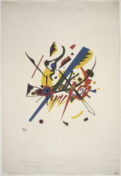 Wassily Kandinsky, 'Neuf éléments de cercle chromatique', 1922-1933