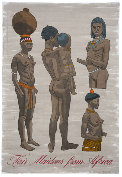 Anton Kannemeyer, 'Fair Maidens from Africa 2 ', 2011