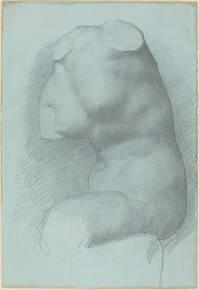 Alphonse Legros, 'Study from the Antique'