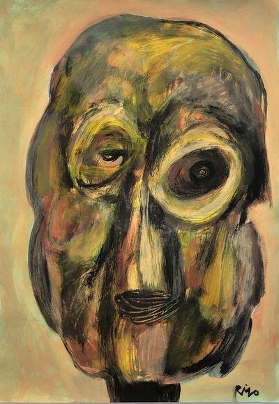 Rigo (José Rigoberto Rodriguez Camacho), 'Head No. 9', ca. 2019