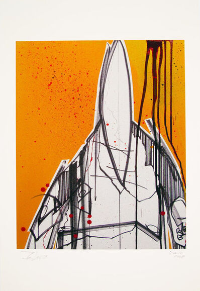Futura, 'Pointman (Yellow)', 2008