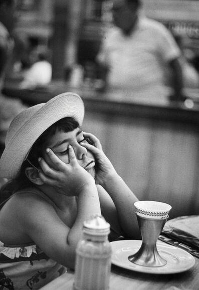 W. Eugene Smith, 'Juanita at the Soda Fountain', 1950