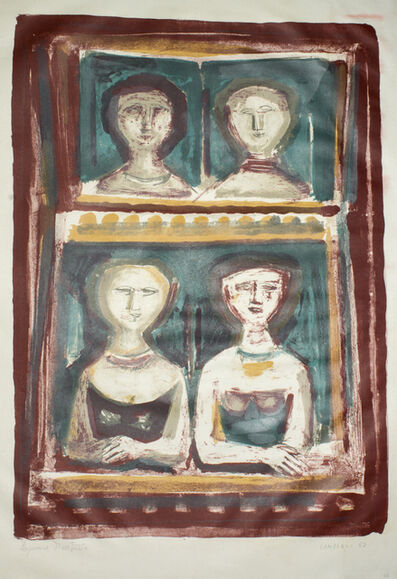 Massimo Campigli, 'Le Belle di Sera', 1967