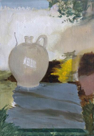 Patrícia Kaliczka, 'Yellow of River Maros Riverbank --- Marosparti Sárga', 2016