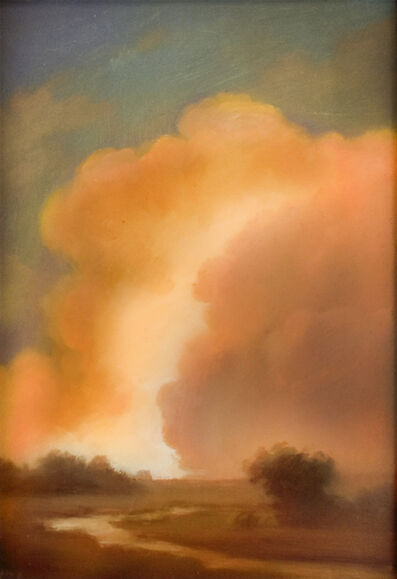 Jane Bloodgood-Abrams, 'Clouds on the Hudson', 2018