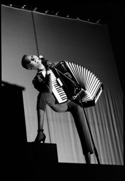 David Corio, 'Grace Jones, Drury Lane Theatre, London, UK', 1981