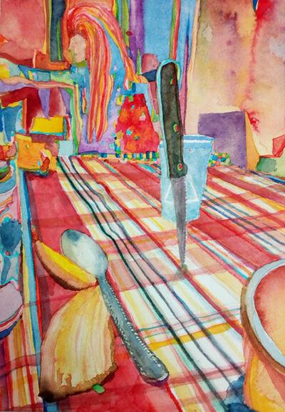 Santiago Cucullu, 'Knife on the table', 2016
