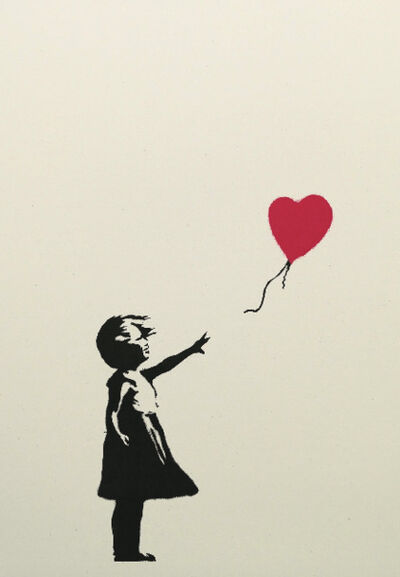 Banksy, 'Girl With Balloon', 2005