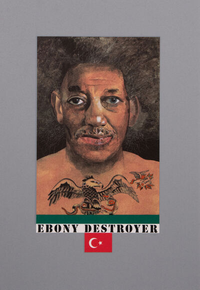 Peter Blake, 'Ebony Destroyer', 2017