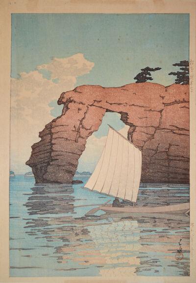 Kawase Hasui, 'Zaimoku Island in Matsushima', 1933
