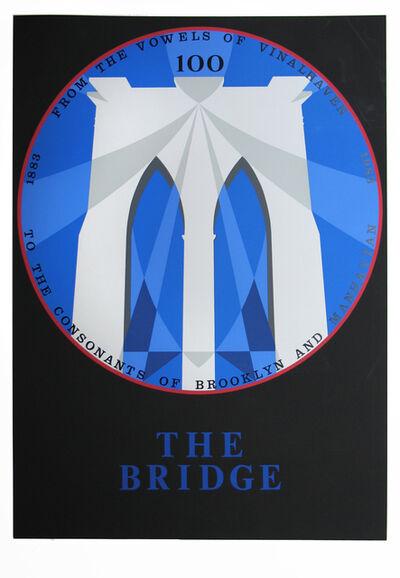 Robert Indiana, 'Brooklyn Bridge, New York, New York', 1983