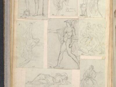Jacques-Louis David, 'Album 11', 1775