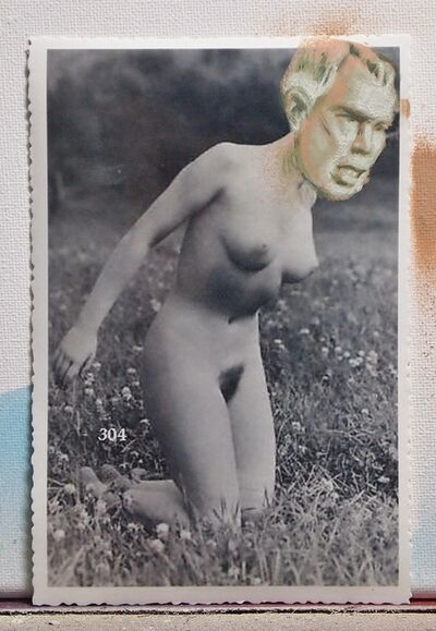 Juan Carlos Noria aka Dixon, 'Postcard series (Nudes) 2', 2012