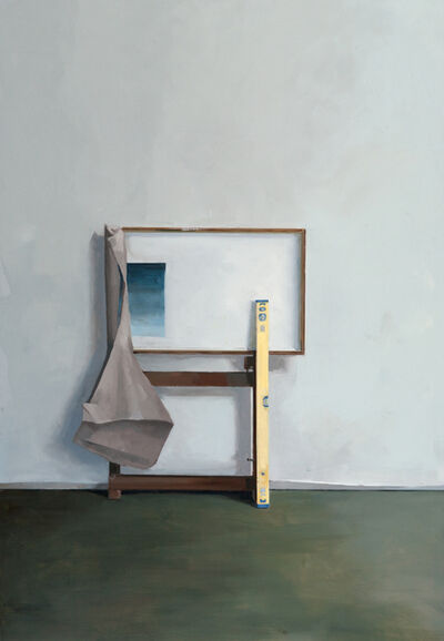Jenny Brillhart, 'Easel Holding the Materials; Noonday (Overcast)', 2019