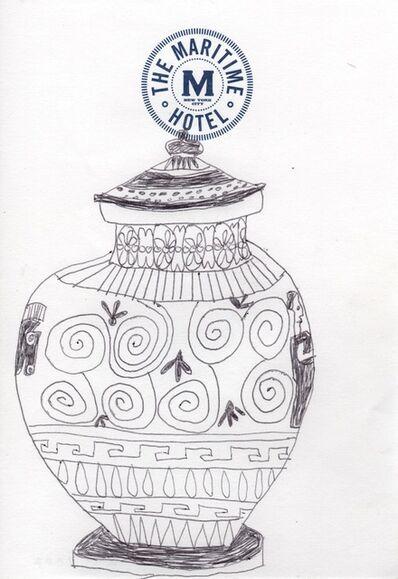Jonas Wood, 'Untitled (Greek Spirals)', 2007