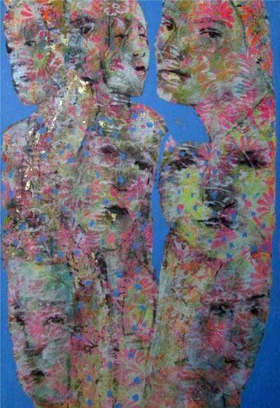 Ahmed el kutt, 'Faces', 2017