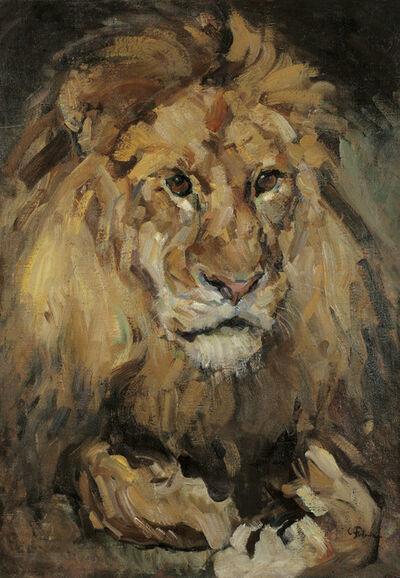 Carl Fahringer, 'Lion', ca. 1930