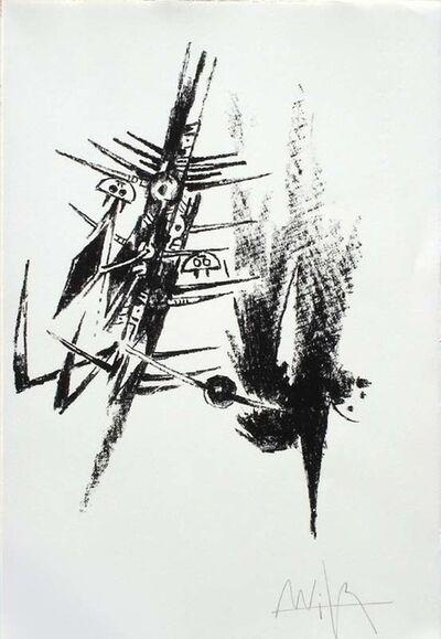 Wifredo Lam, 'Erker-Treffen 2', 1974