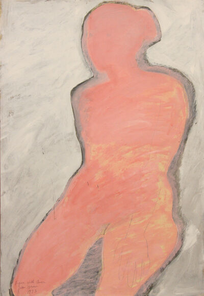 Joan Brown, 'Figure with Aura', 1973