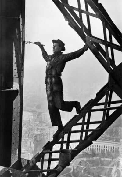 Marc Riboud, 'Zazou, the Eiffel tower's painter. Paris, France', 1953