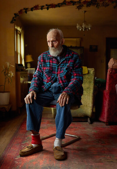 Andrew Moore, 'Uncle Teed, Lynn Lincoln Bauer, Sioux County, Nebraska', 2013