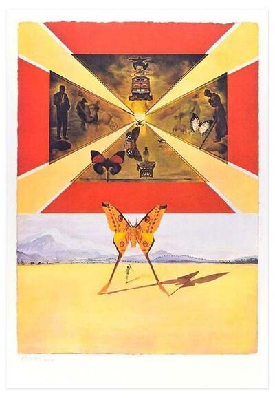 "Salvador Dalí, 'Plate V - From ""Suite Papillon""', 1969"