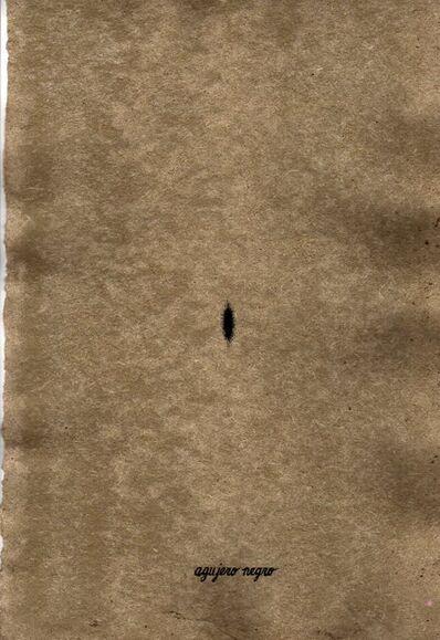 Mercedes Elena González, 'Agujero Negro (Black Hole)', 1999