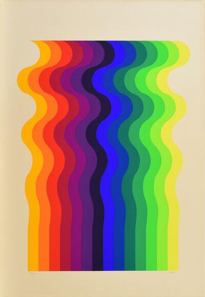 Julio Le Parc, 'Movimento Cinetico en Varios Colores – Volume Virtuel', 1968-1970