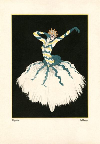 """Walter Schnackenberg, '""""Snake"""", Kostume, Plakate und Decorationen', 1920"""