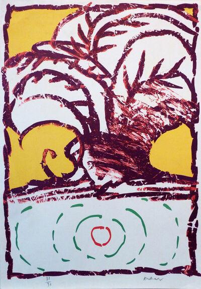 Pierre Alechinsky, ' Sans titre', ca. 1970